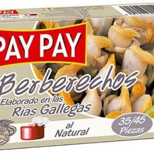 Berberechos al Natural PayPay 35/45