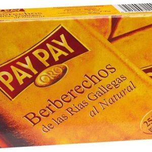 Berberechos al Natural PayPay 25/35 Serie Oro