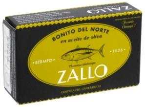 Bonito del Norte en Aceite de Oliva Zallo