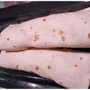 Burrito de Pollo con Guacamole