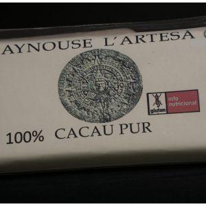 Chocolate 100% Cacao Tableta 125 gr