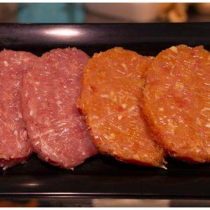Hamburguesa de Pavo con Queso Cabra y Cebolla Confitada 2x120gr