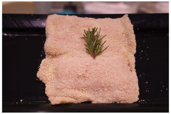 Libritos de Pollo Rebozado con Jamón y Queso