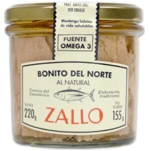 Lomos de Bonito del Norte al Natural Zallo
