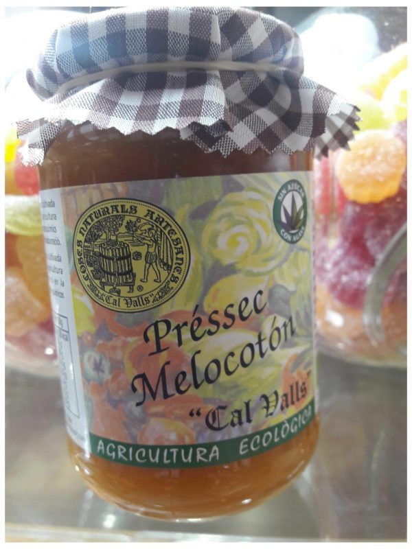 Mermelada Eco de Melocoton 370 ml