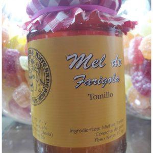 Miel Artesanal de Tomillo en Frasco 500 gr