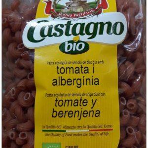 Pasta Codini Eco con Tomate y Berenjena Castagno Bio