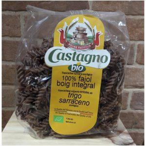 Pasta Espirales Eco de Trigo Sarraceno Castagno Bio