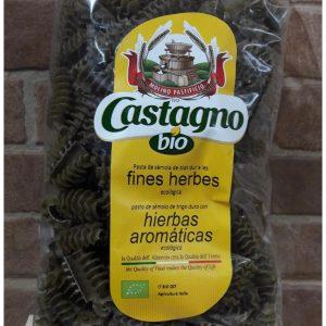 Pasta Marcianos Eco con Finas Hierbas Castagno Bio