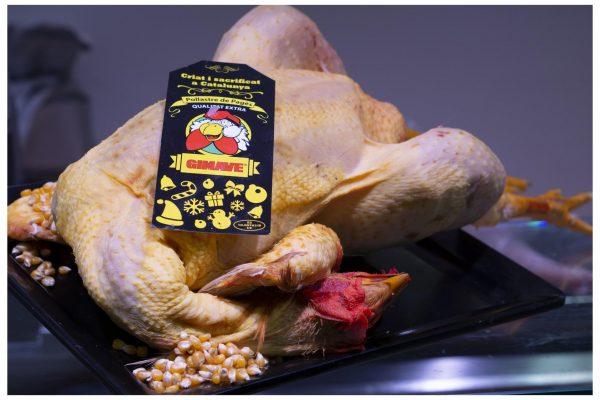 Pollo de Corral Entero Eviscerado para Horno