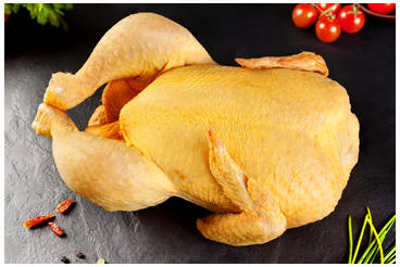 Pollo de Corral a Cuartos