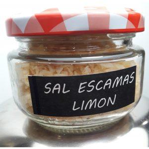 Sal del Delta Escamas Limón 135 ml